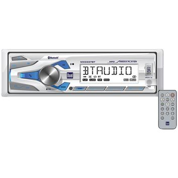 Dual Marine Single-din In-dash Mechless Digital Media Am And Fm Receiver With Bluetooth