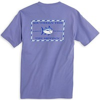 Original Skipjack Tee Shirt in Lavender by Southern Tide