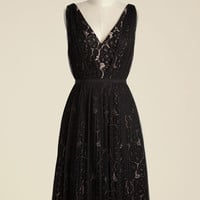 Tasteful Intuition A-Line Dress | Mod Retro Vintage Dresses | ModCloth.com