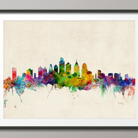 Philadelphia Skyline, Art Print (520)