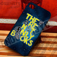 They Are Not Only Books Galaxy - iPhone 4/4s/5/5s/5c Case - iPod 4/5 case - Samsung Galaxy S2/S3/S4/S3 mini Case - Black or White