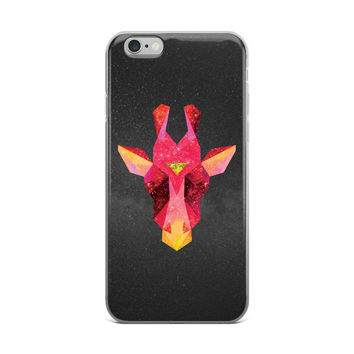 Cosmic Giraffe - iPhone Case (5/5s/Se, 6/6s, 6/6s Plus)