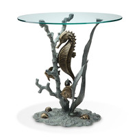 SPI Home Collection Seahorse End Table