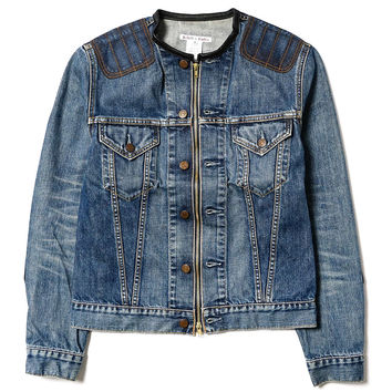 Rebuild By Needles Jean Jacket Motocross Jacket