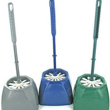 Toilet Bowl Scrubber And Storage Cup ( Case of 24 )