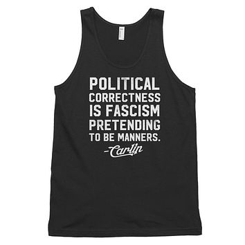 PC Carlin Quote Classic Unisex Tank Top