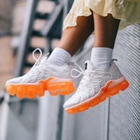 Nike Air Vapormax Plus Triple White Running Sneakers Sport Shoes-16