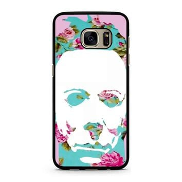 Floral Michael Myers Pop Art Samsung Galaxy S7 Case