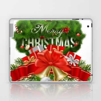 takiyaChristmas3 Laptop & iPad Skin by dezhta