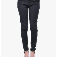 Charcoal Zippers and Paisley Skinny Jeans | $10.00 | Cheap Trendy Jeans Chic Discount Fashion for Wo