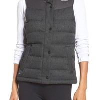 The North Face 'Nuptse Tweed' Water Resistant Down Vest (Nordstrom Exclusive) | Nordstrom