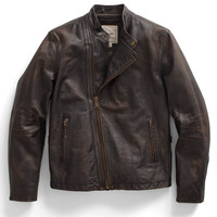 Brown Racing Jacket