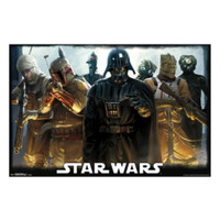Star Wars Darth Vader & Bounty Hunters Poster