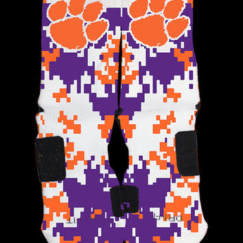 Clemson Tigers Custom Nike Elite Socks