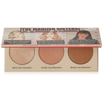 theBalm theManizer Sisters Luminizers Palette | Overstock.com Shopping - The Best Deals on Face Makeup
