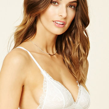 26fa10581d Eyelash Lace Bralette from Forever 21