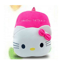 Hello Kitty Children Plush Cartoon Kids Backpack