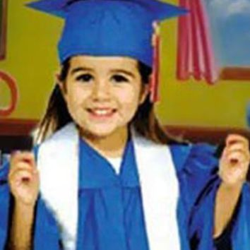 Child Cap And Gown Graduation Photo Prop (Multiple Colors Available) - GL700