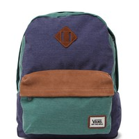 Vans Old Skool II School Backpack - Mens Backpacks - Blue - One