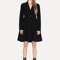 Yang Li Technical Blazer Dress