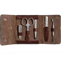 Alpen Italian Leather Manicure Kit