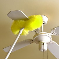 Removable And Washable Microfiber Ceiling And Fan Duster
