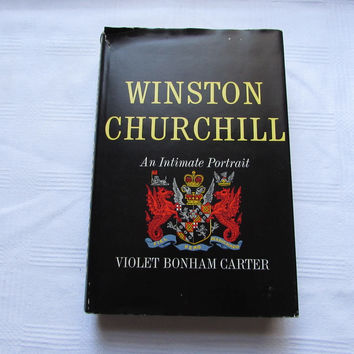 Winston Churchill An Intimate Portrait Vintage Book