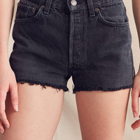 Urban Renewal Recycled Levi's Cutoff Denim Short | Urban Outfitters