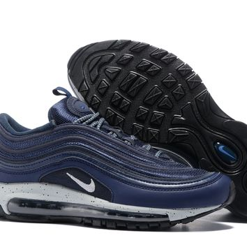 KUYOU Air Max 97 Navy Blue/ White Swoosh