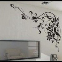 Mysterious Frame - Large Wall Decals Stickers Appliques Home/Wall D¨¦cor