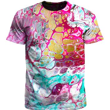 Cellular Marble Painting T-Shirt