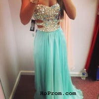 Green Prom Dresses Long Prom Dress Evening Dresses