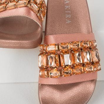 Jewel Slides in Multiple Colors