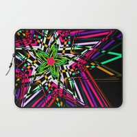 Abstract colorful stars Laptop Sleeve by Haroulita | Society6