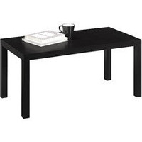 Parsons Coffee Table, Black