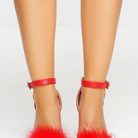 Furget You Heels - Red