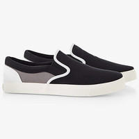 COLOR BLOCK SLIP-ON SNEAKER from EXPRESS