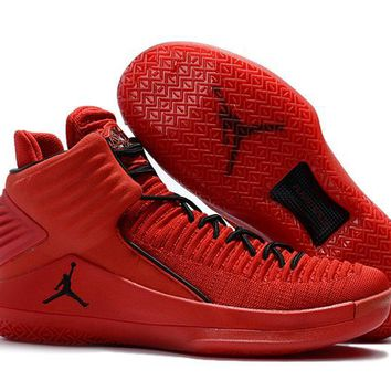 qiyif Men's Jordan 32  Basketball Shoes Red 40-46