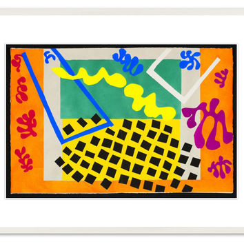 Henri Matisse, Codomas, from Jazz, 1947, Paintings