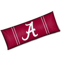 Alabama Crimson Tide NCAA Full Body Pillow (19in x 54in)