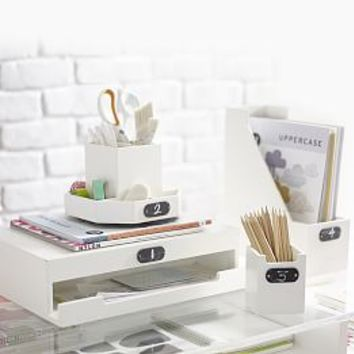 Cool desk accessories cute desk from pbteen home wishlist - Desk organization accessories ...