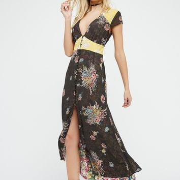 Free People Crazy Feels Midi Dress