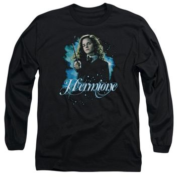 Harry Potter - Hermione Ready Long Sleeve Adult 18/1 Officially Licensed Shirt