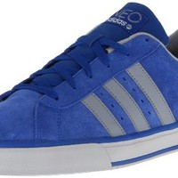 adidas Men's Se Daily Vulc - Suede Lace-Up Fashion Sneaker,Collegiate Royal/Tech Grey/Light Onix,11 M US