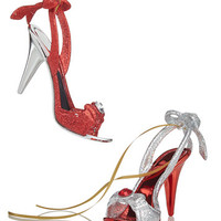 Holiday Lane Set of 2 High Heel Ornaments, Created for Macy's | macys.com