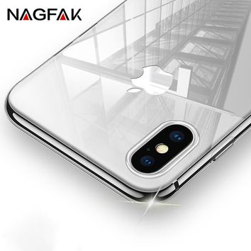 Transparent TPU Case iPhone X Ultra Thin Soft Silicon Cover iPhone X Case Crystal Clear