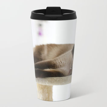 What's Up? Metal Travel Mug by Theresa Campbell D'August Art