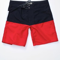 Wellen USA Panel Boardshorts - Mens Board Shorts - Red/White/Blue