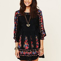 Free People Age of Aquarius Print Dress