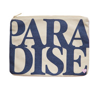 CAMERON HAWAII Large Clutch - Paradise Blueberry
